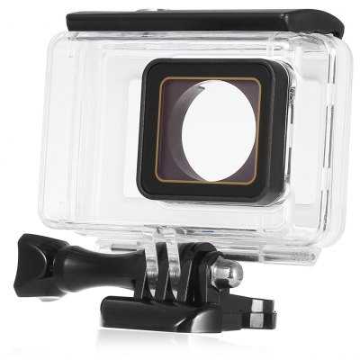 LINGLE Y2 - 26 45M Waterproof Housing for YI 4K Camera