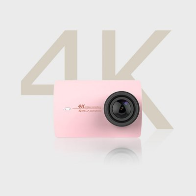 Original YI II International Version WiFi 4K Sports Action Camera 155 Degrees Wide Angle