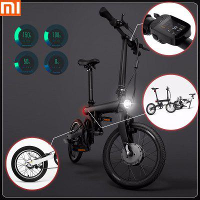 Original Xiaomi QiCYCLE - EF1 Smart Bicycle - BLACK (entrepot FR)