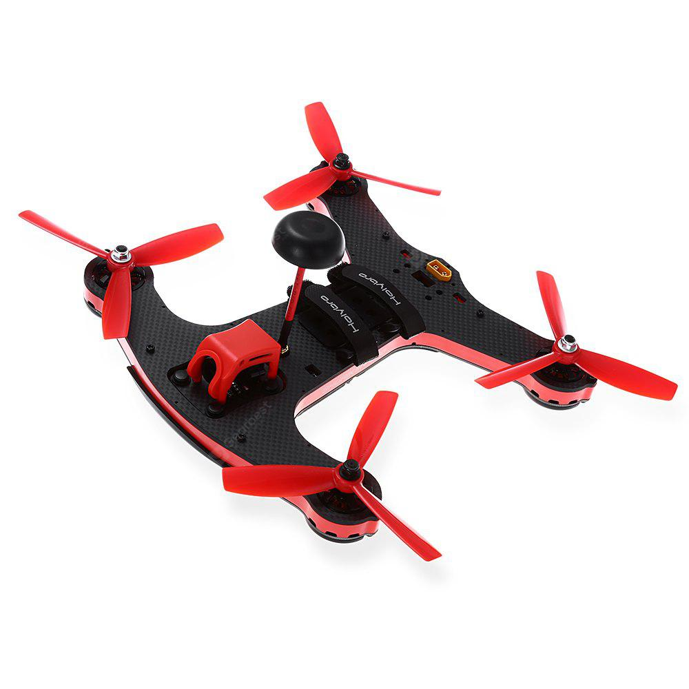 RED WITH BLACK Holybro Shuriken 250 RC Racing Drone BNF