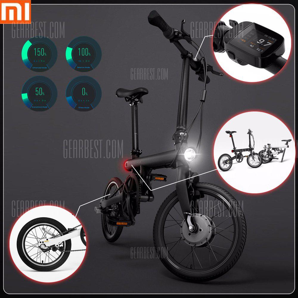 Bons Plans Gearbest Amazon - Xiaomi QiCYCLE - EF1 Smart Bicycle