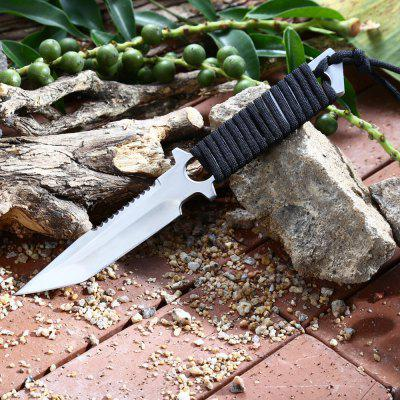 440C Stainless Steel Fixed Blade Hunting Knife with Sheath