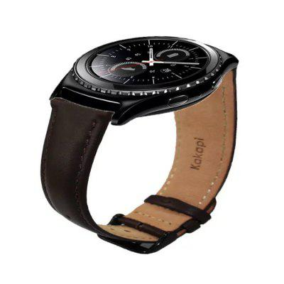 Genuine Leather Strap for Samsung S2 Smart Watch