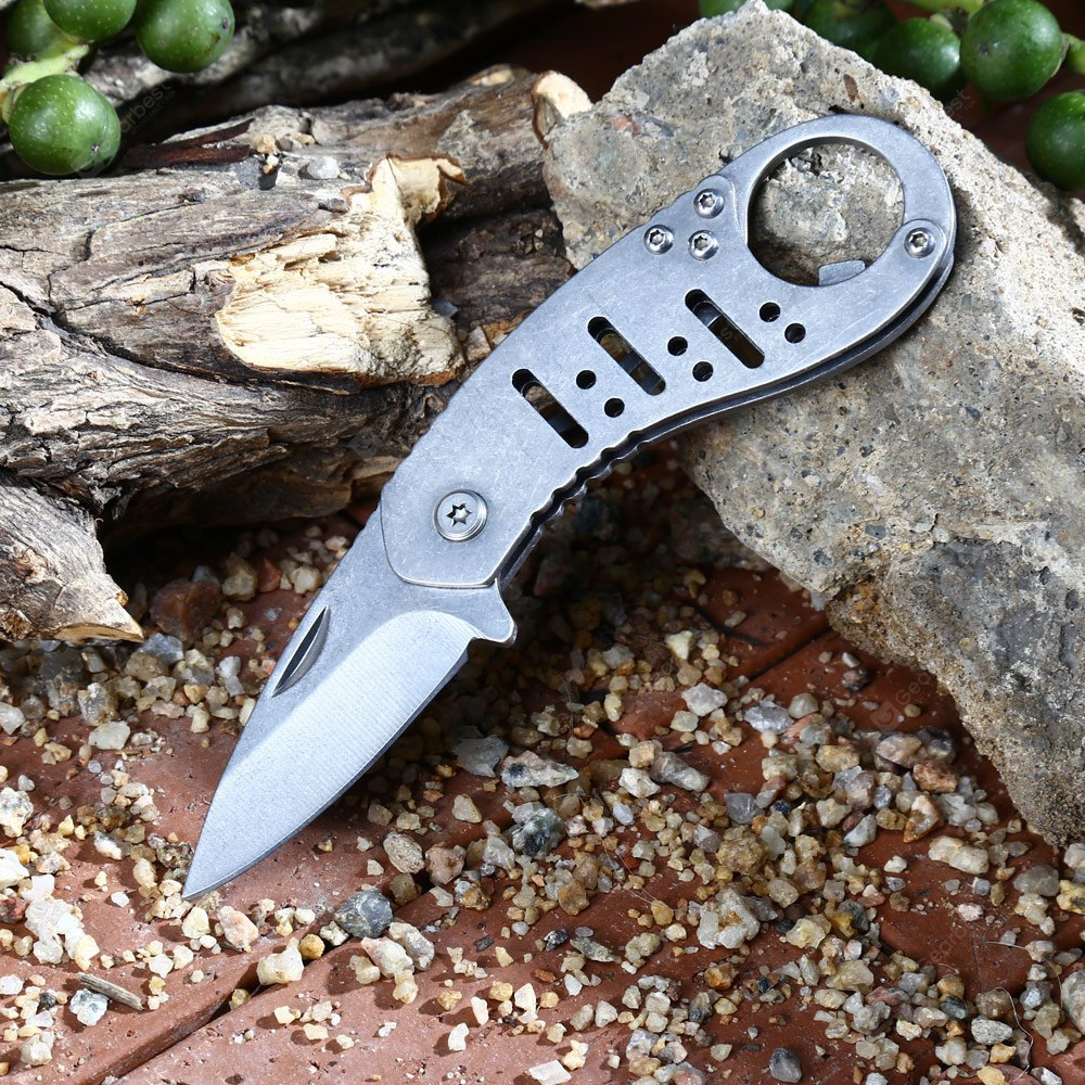 Outdoor Folding Mini Pocket Knife with Bottle Opener Function