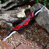 Mini Double Frame Lock Blades Foldable Knife with Clip - RED