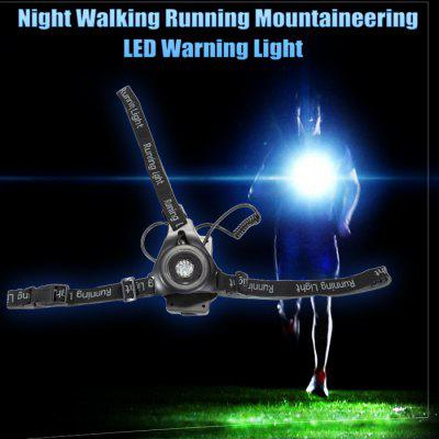 Night Walking Running Mountaineering LED Warning Light