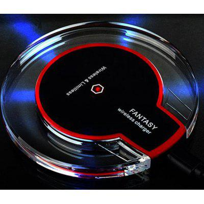 Qi Wireless Charger Transmitter AdapterChargers &amp; Cables<br>Qi Wireless Charger Transmitter Adapter<br><br>Charging efficiency: 73 Percent<br>Color: Black,White<br>Connection Type: Micro USB<br>Input: 5V / 2A<br>Mainly Compatible with: Galaxy Note 4, Galaxy Note 2 N7100, Samsung S6, Samsung Galaxy S5, Samsung Galaxy S4 I9500/I9505, Galaxy Note 3 N9000, Nokia 1520, LG, Google Nexus 4/5, Samsung Galaxy S3 I9300, Google Nexus 7 2nd, iPhone 5/5S, iPhone 6, iPhone 6 Plus<br>Material: PC, Silicone, ABS<br>Operating temperature: 0 - 45 Deg<br>Output: 5V / 1A<br>Package Contents: 1 x Wireless Charger, 1 x USB Cable, 1 x English Manual<br>Package size (L x W x H): 12.30 x 12.30 x 2.80 cm / 4.84 x 4.84 x 1.1 inches<br>Package weight: 0.1550 kg<br>Product size (L x W x H): 9.80 x 9.80 x 1.00 cm / 3.86 x 3.86 x 0.39 inches<br>Product weight: 0.0780 kg<br>Type: Wireless Charger Launcher<br>Wireless transmission distance: 8mm