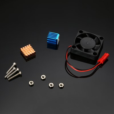 Cooling Kit for Raspberry Pi 3 / 2 / B+ - COLORMIX