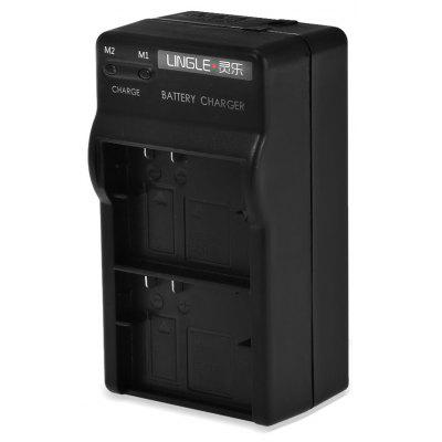 LINGLE Y2 - 21 Battery Charger Car Charger for YI II