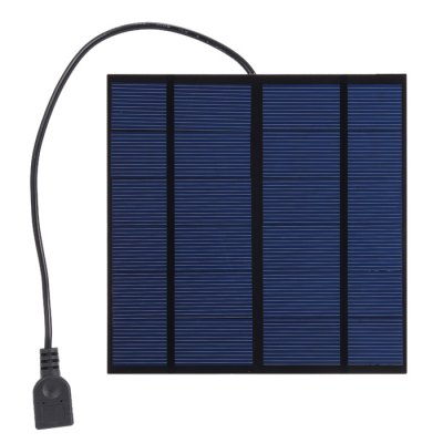 SUNWALK 3W 5V Monocrystalline Silicon Solar Charger Panel