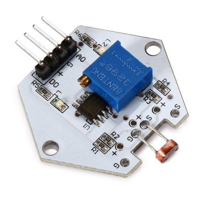 Buy WHITE DIY LDTR 0010 Photo Resistor Sensor Module for Arduino for $1.28 in GearBest store