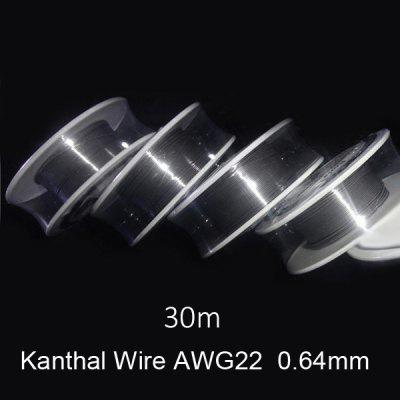 0.64mm Diameter Kanthal Resistance Wire Roll E - cigarette Coils for Atomizers DIY ( 30m )