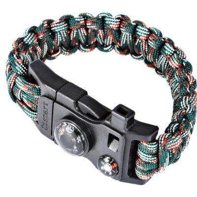 CTSmart 6 in 1 Survival Bracelet