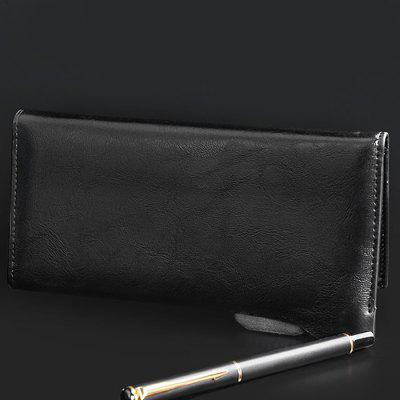 Classical Long Business Men Wallet with Multi Slot