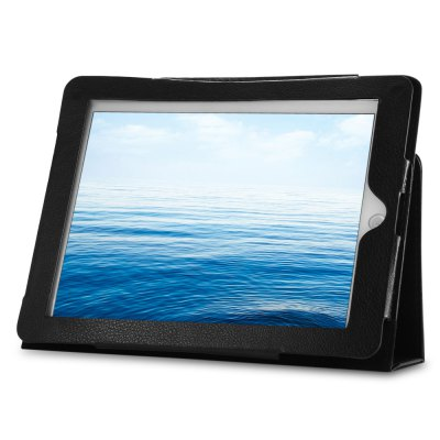 PU Leather Full Body Protective Cover Case for iPad 1