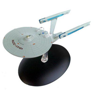 Alloy Spaceship Cartoon Model for Children