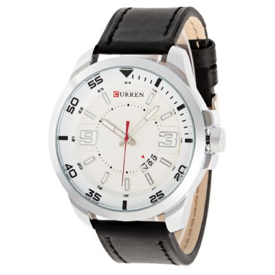 CURREN 8213 Casual Date Display Men Quartz Watch