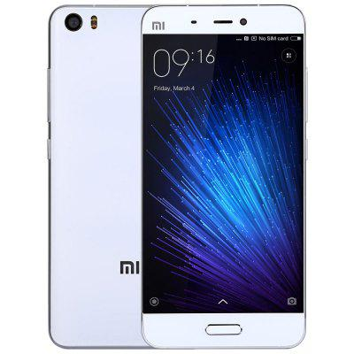 XiaoMi Mi5 64GB 4G SmartphoneCell phones<br>XiaoMi Mi5 64GB 4G Smartphone<br><br>2G: GSM 850/900/1800/1900MHz<br>3G: WCDMA 850/900/1900/2100MHz<br>4G: FDD-LTE 1800/2100/2600MHz<br>Additional Features: Calendar, Calculator, Browser, Bluetooth, Alarm, 4G, 3G, E-book, Wi-Fi, Fingerprint recognition, GPS, MP3, MP4, People, Sound Recorder, Video Call<br>Aperture: f/2.0<br>Auto Focus: Yes<br>Back-camera: 16.0MP 4-axis OIS<br>Battery Capacity (mAh): 3000mAh<br>Battery Type: Lithium-ion Polymer Battery, Non-removable<br>Bluetooth Version: Bluetooth V4.2<br>Brand: Xiaomi<br>Camera Functions: Face Detection, Face Beauty, Anti Shake<br>Camera type: Dual cameras (one front one back)<br>Cell Phone: 1<br>Cores: 2.15GHz, Quad Core<br>CPU: Qualcomm Snapdragon 820<br>E-book format: PDF, TXT<br>External Memory: Not Supported<br>Flashlight: Yes<br>Front camera: 4.0MP<br>GPU: Adreno 530<br>I/O Interface: Type-C, 2 x Nano SIM Slot, 3.5mm Audio Out Port<br>Language: Indonesian, Malay, German, English, Spanish, French, Italian, Hungarian, Uzbek, Polish, Portuguese, Romanian, Slovenian, Vietnamese, Turkish, Czech, Greek,  Russian, Hindi, Ukrainian, Marathi, Bengali<br>Live wallpaper support: Yes<br>MS Office format: Word, PPT, Excel<br>Music format: AMR, AAC, WAV, MP3<br>Network type: FDD-LTE+WCDMA+GSM<br>OS: MIUI 8<br>Package size: 18.00 x 12.00 x 6.00 cm / 7.09 x 4.72 x 2.36 inches<br>Package weight: 0.3600 kg<br>Picture format: PNG, GIF, BMP, JPEG<br>Pixels Per Inch (PPI): 428<br>Power Adapter: 1<br>Product size: 14.46 x 6.92 x 0.73 cm / 5.69 x 2.72 x 0.29 inches<br>Product weight: 0.1290 kg<br>RAM: 3GB RAM<br>ROM: 64GB<br>Screen resolution: 1920 x 1080 (FHD)<br>Screen size: 5.15 inch<br>Screen type: Capacitive<br>Sensor: Accelerometer,Ambient Light Sensor,E-Compass,Gravity Sensor,Gyroscope,Hall Sensor,Proximity Sensor<br>Service Provider: Unlocked<br>SIM Card Slot: Dual SIM, Dual Standby<br>SIM Card Type: Dual Nano SIM<br>SIM Needle: 1<br>Sound Recorder: Yes<br>Touch Focus: Yes<br>Type: 4G Smartphone<br>USB Cable: 1<br>Video format: MKV, MP4, AVI, ASF<br>Video recording: 4K Video,Support 1080P Video Recording,Support 720P Video Recording,Yes<br>Wireless Connectivity: WiFi, GSM, 3G, A-GPS, 4G, GPS