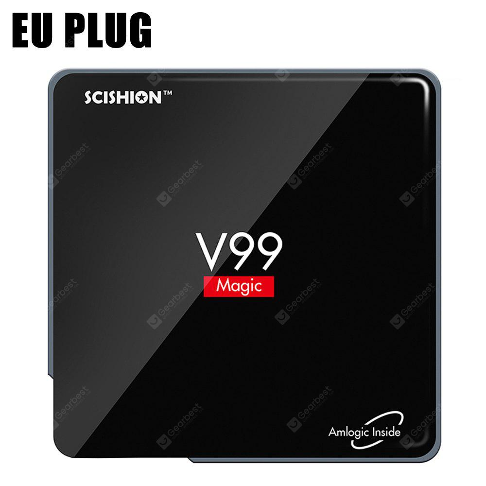 SCISHION V99 Android TV Receiver Box Mini PC