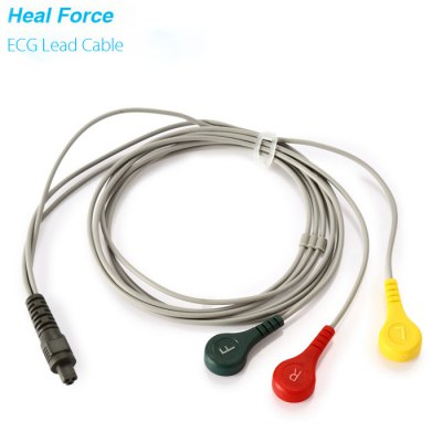 Heal Force ECG Lead Cable Patient Monitor Wire