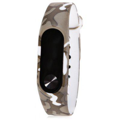 Buy CAMOUFLAGE TPU Strap for Xiaomi Miband 2 for $1.48 in GearBest store