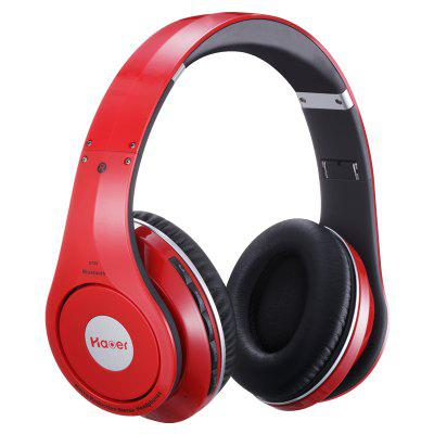 Haoer S750 Bluetooth V4.1 Over-ear Foldable HeadphonesOn-ear &amp; Over-ear Headphones<br>Haoer S750 Bluetooth V4.1 Over-ear Foldable Headphones<br><br>Application: Mobile phone, For iPod, Computer<br>Battery Capacity(mAh): 300mAh<br>Bluetooth: Yes<br>Bluetooth distance: W/O obstacles 10m<br>Bluetooth protocol: A2DP<br>Bluetooth Version: V4.1<br>Brand: Haoer<br>Charging Time.: About 2 hours<br>Color: Black,Red,White<br>Compatible with: Computer<br>Connectivity: Wired and Wireless<br>External Memory: Micro SD Card,TF card<br>FM radio: Yes<br>Frequency response: 20~20KHz<br>Function: FM function, MP3 player, Bluetooth, Noise Cancelling<br>Impedance: 32ohms<br>Max. of External memory: 32GB<br>Model: S750<br>Package Contents: 1 x Headsets, 1 x Cable, 1 x Audio Cable, 1 x User Manual ( English and Chinese )<br>Package size (L x W x H): 24.30 x 8.80 x 23.90 cm / 9.57 x 3.46 x 9.41 inches<br>Package weight: 0.850 kg<br>Plug Type: 3.5mm<br>Product size (L x W x H): 19.30 x 7.50 x 18.40 cm / 7.6 x 2.95 x 7.24 inches<br>Product weight: 0.307 kg<br>Sensitivity: 110dB ± 3dB<br>Working Time: 6 hours