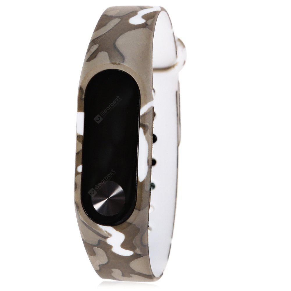 CAMOUFLAGE TPU Strap for Xiaomi Miband 2
