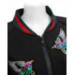 Full Zip Embroidered Jacket for Women for sale