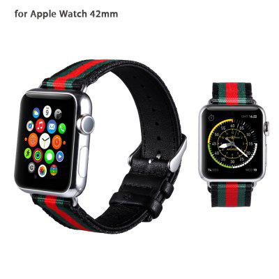 Leisure PU Leather Watchband for Apple Watch 42mm