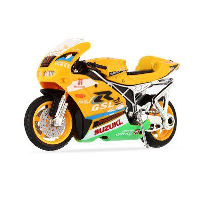 Realistic Racing Motorcycle Model