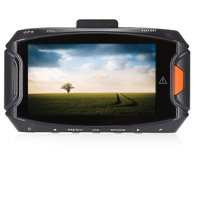 GS90A 1296P 170 Degree Wide Angle 5MP Car GPS DVR