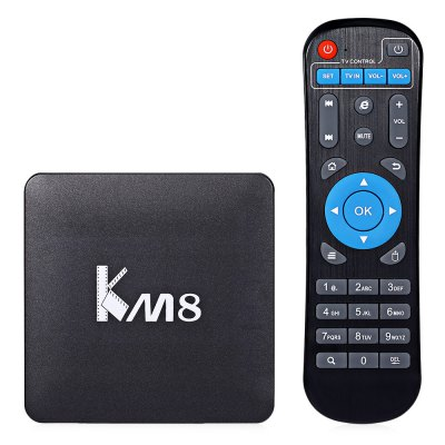 KM8 Android TV Box Amlogic S905X Quad Core