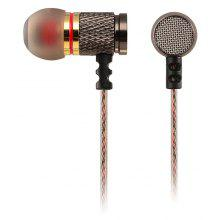 KZ-EDR1 3.5mm In-Ear Music Mega Bass Earphone Wire Headphone Earplugs DJ Dance Headset