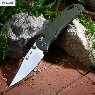 Ganzo G7531 - GR Axis Lock Foldable Knife with G10 Handle