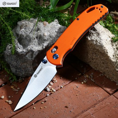 Ganzo G7531 - OR Axis Lock Foldable Knife with G10 Handle