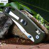 Ganzo G7531 - GR Axis Lock Foldable Knife with G10 Handle - GREEN