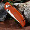Y - START JIN02 Military Pocket Knife - SWEET ORANGE