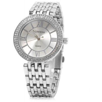 contena GENEVA Business Style 10m Waterproof Lady Quartz Watch