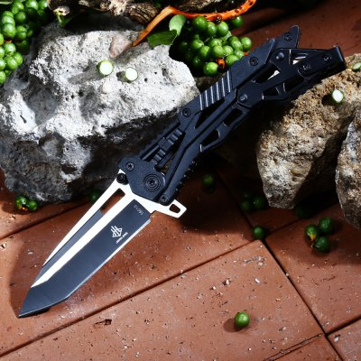 Jun Lang 16010A Mechanical Lock Folding Knife