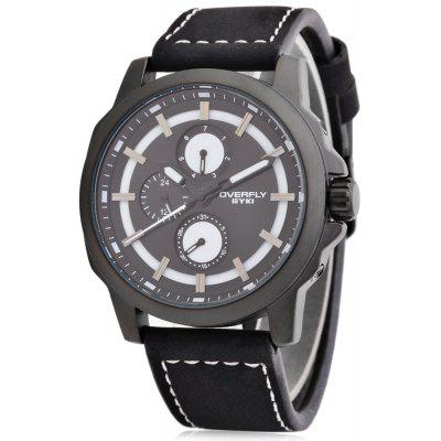 EYKI OVERFLY 3059 Casual Men Working Sub-dial Quartz Watch