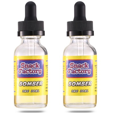Original Snack Factory Bomber E-juice ( 2 Bottles / Pack )