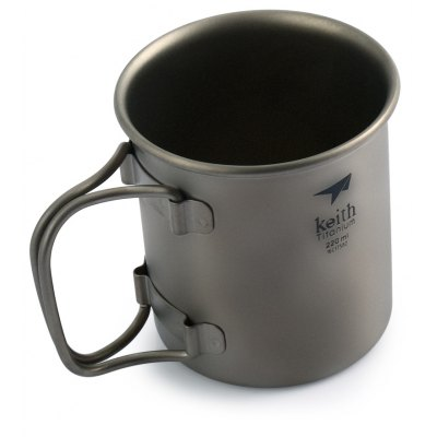 Keith Ti3200 220ml Titanium Cup