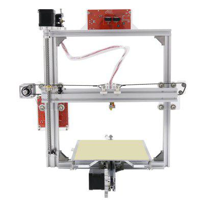 Anet A2 Plus Aluminum Metal 3D DIY Printer3D Printers, 3D Printer Kits<br>Anet A2 Plus Aluminum Metal 3D DIY Printer<br><br>Brand: Anet<br>Certificate: CE,FCC,RoHs<br>File format: STL, G-code<br>Host computer software: Cura<br>Language: Chinese,English,French,German,Spanish<br>Layer thickness: 0.1-0.4mm<br>LCD Screen: Yes<br>Material diameter: 1.75mm<br>Memory card offline print: TF card<br>Model: A2 Plus<br>Model supporting function: Yes<br>Nozzle diameter: 0.4mm<br>Nozzle quantity: Single<br>Nozzle temperature: Room temperature to 260 degree<br>Package size: 51.00 x 31.00 x 21.00 cm / 20.08 x 12.2 x 8.27 inches<br>Package weight: 7.7300 kg<br>Packing Contents: 1 x Anet A2 Plus 3D Desktop DIY Printer Kit<br>Packing Type: unassembled packing<br>Platform board: Aluminum Base<br>Print speed: 30 - 100mm/s<br>Product size: 50.00 x 50.00 x 49.00 cm / 19.69 x 19.69 x 19.29 inches<br>Product weight: 6.0000 kg<br>Supporting material: ABS, HIPS, PLA<br>Supporting Paper Size: No<br>Voltage: 110V/220V<br>XY-axis positioning accuracy: 0.012mm<br>Z-axis positioning accuracy: 0.004mm