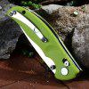 Y - START JIN02 Foldable Knife - GREEN