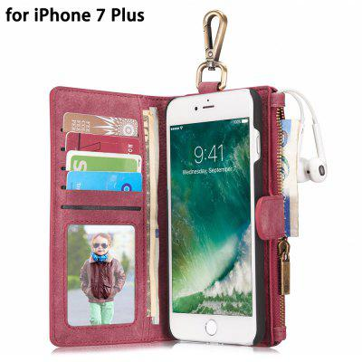 CaseMe 2 in 1 Wallet Protective Phone Case for iPhone 7 Plus