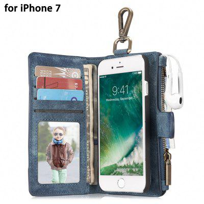 CaseMe 2 in 1 Wallet Protective Phone Case for iPhone 7