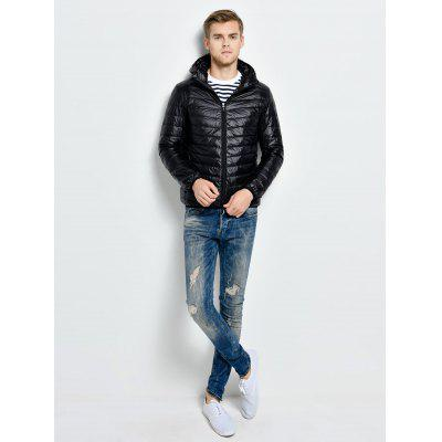 Hooded Down Jacket for Men