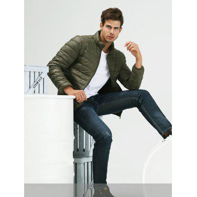 Stand-up Collar Down Jacket for Men