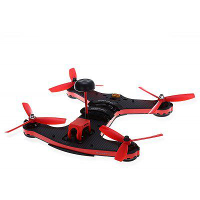 Buy RED WITH BLACK Holybro Shuriken 250 RC Racing Drone BNF for $198.54 in GearBest store