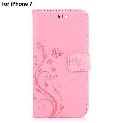 PU Leather Protective Full Body Phone Case for iPhone 7